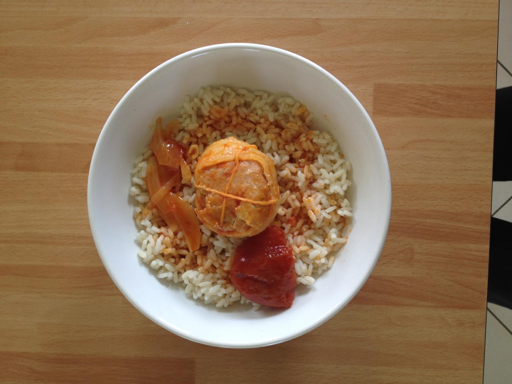 Paupiettes de dinde aux oignons et tomates