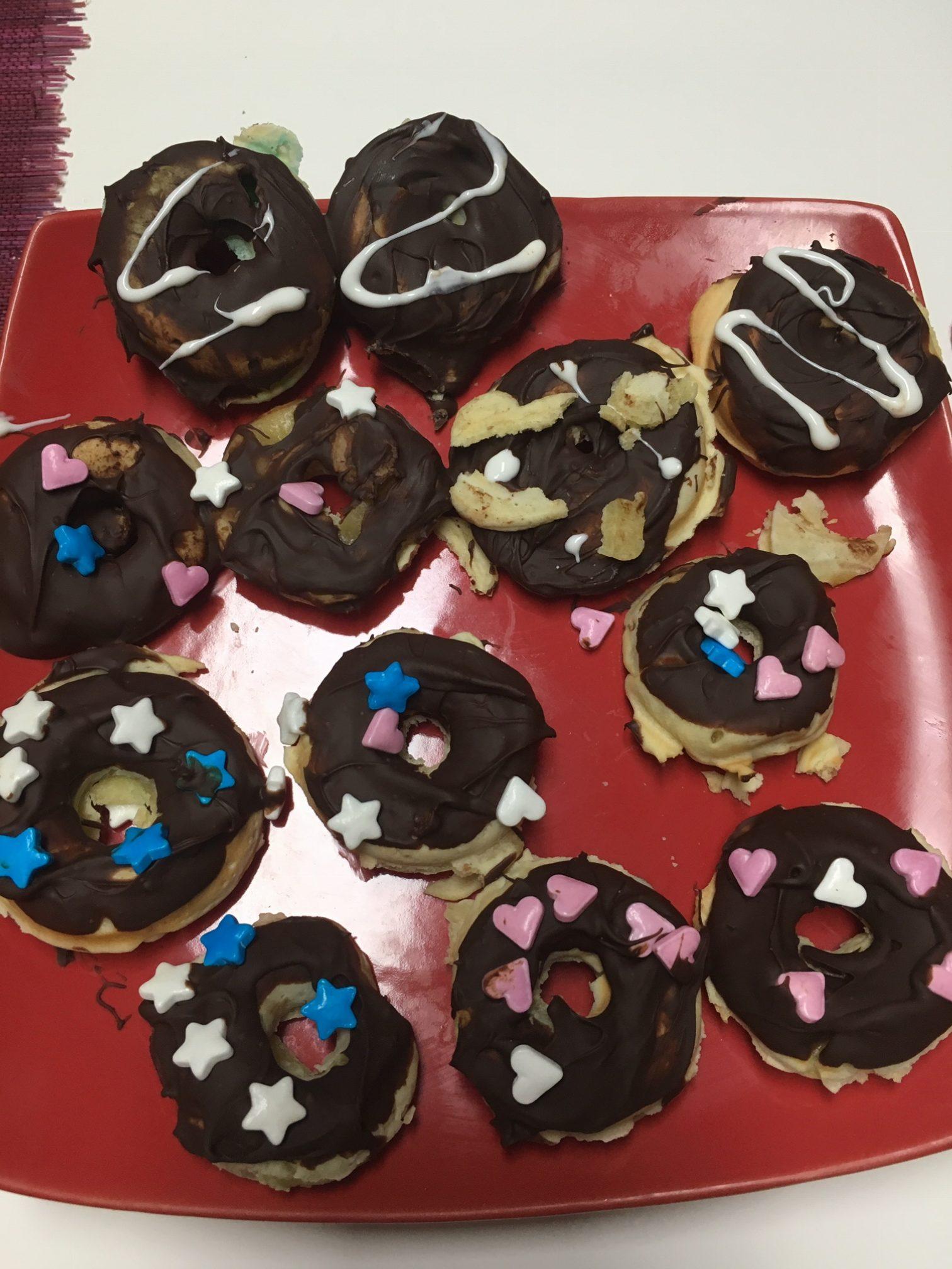 Mini donuts d Anais